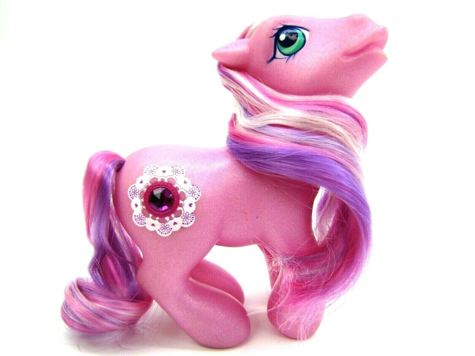 2004 My Little Pony Generation 3 Jewel Pony CRYSTAL LACE Very NICE